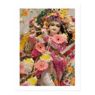 Radha KRISHNA  for Love, Peace n Prosperity Postcard