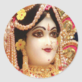 RADHA Krishna - in my Heart Collection Classic Round Sticker