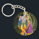 """Radha Krishna keychain<br><div class=""""desc"""">Get this gorgeous Radha Krishna keychain for yourself or for the love of your life.</div>"""