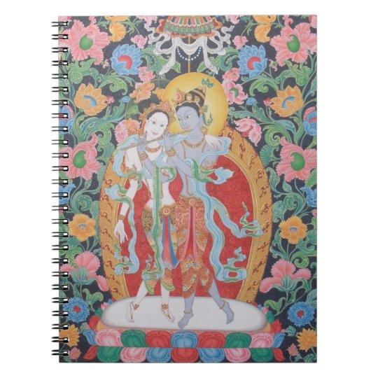 Radha-Krishna Notebook