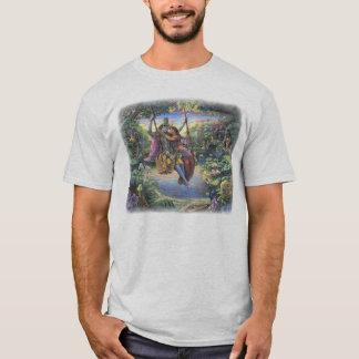 Radha Krishna on the Swing T-shirt