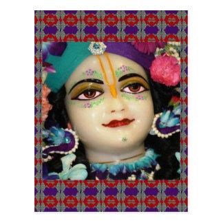 Radha KRISHNA para el amor, prosperidad de la paz Postal