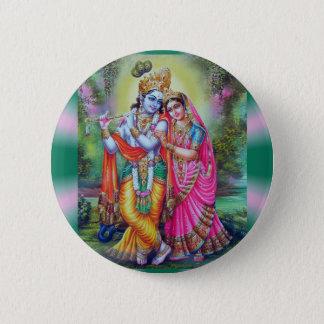 Radha Krishna Pinback Button