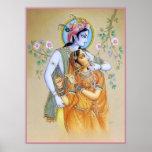 Radha-Krishna Print