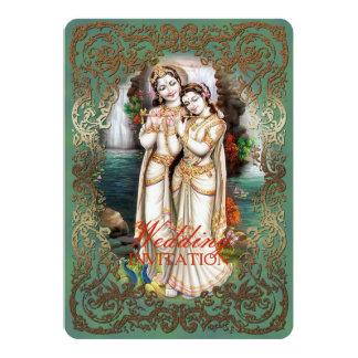 Radha Krishna Wedding Collection - Invitation Card