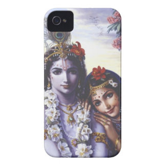 Radha y Krishna Case-Mate iPhone 4 Carcasas