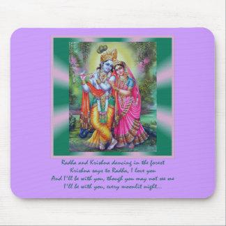 Radha y Krishna Mousepad