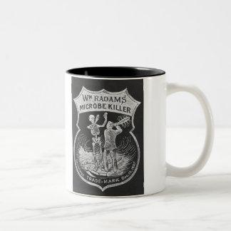 Radham's Microbe Killer Two-Tone Coffee Mug