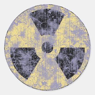 Radiación - cl-dist pegatinas