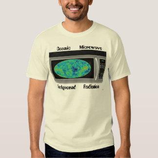 Radiación de fondo cósmica de la microonda playeras