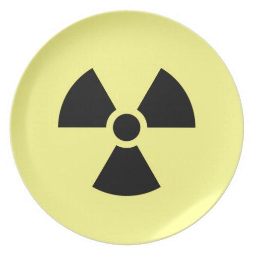 Radiación Plato De Comida