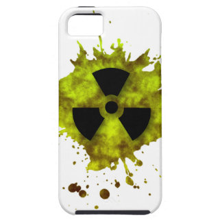 Radiación Splat - desechos radioactivos Funda Para iPhone 5 Tough