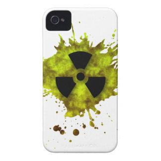 Radiación Splat - desechos radioactivos iPhone 4 Cárcasa