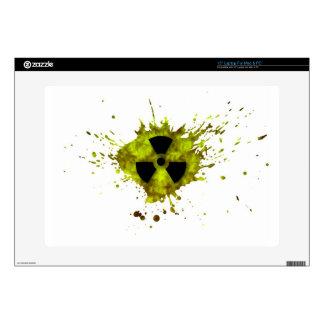 Radiación Splat - desechos radioactivos Portátil Skin