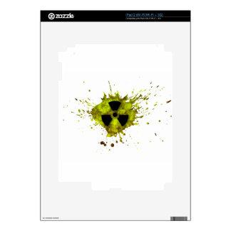 Radiación Splat - desechos radioactivos Skin Para El iPad 2