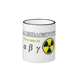 Radiactividad (fácil como…) Taza