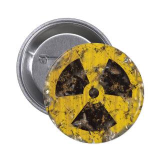 Radiactivo aherrumbrado pins