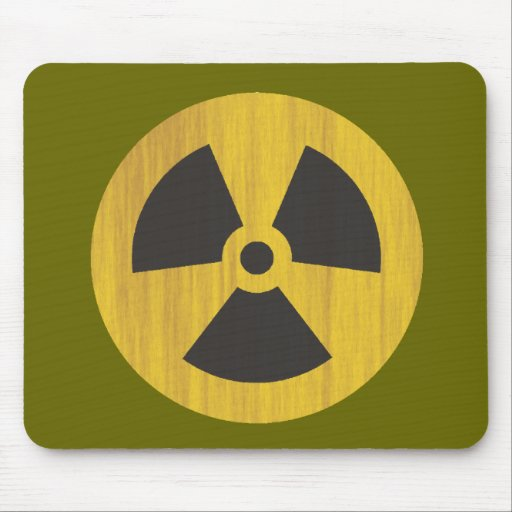 Radiactivo Alfombrilla De Ratones