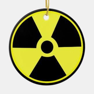 Radiactivo Adorno Redondo De Cerámica