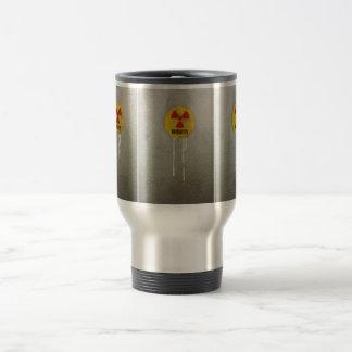 radiactivo kontaminiert taza térmica