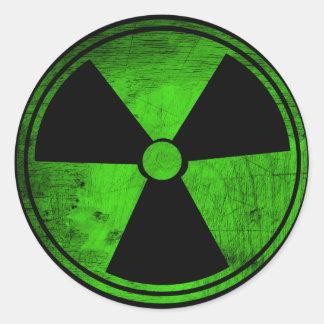 Radiactivo Pegatina