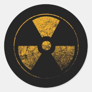 Radiactivo - pegatina