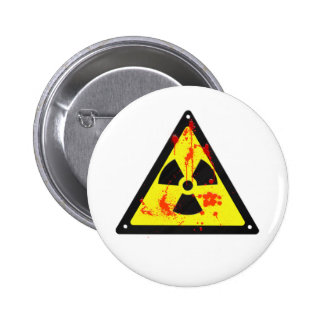 Radiactivo Pin Redondo 5 Cm