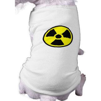 Radiactivo Camiseta De Mascota