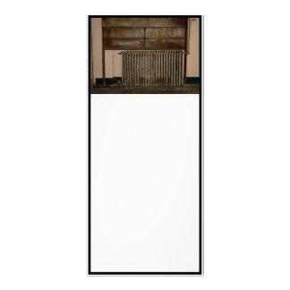 Radiador oxidado (calentador de sitio) en la prisi lonas personalizadas