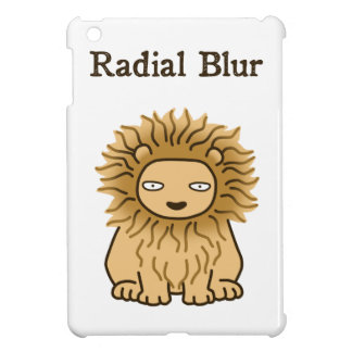 Radial Blur (color) iPad Mini Covers