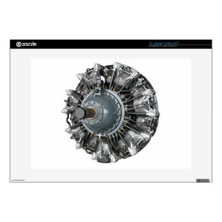 "Radial Engine 15"" Laptop Decal"