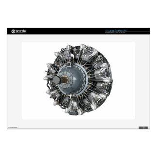 "Radial Engine 15"" Laptop Decal"