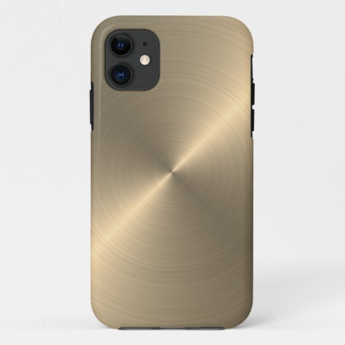 Radial Gold Metallic | Custom Phone Case