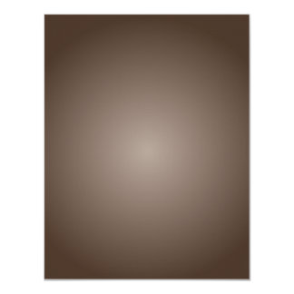 Radial Gradient - Dark Brown and Light Brown Card