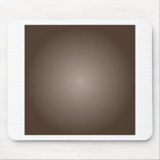 Radial Gradient - Dark Brown and Light Brown Mousepad