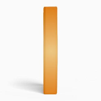 Radial Gradient - Dark Orange and Light Orange 3 Ring Binders