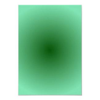 Radial Gradient - Light Green and Dark Green Card