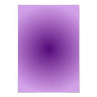 Radial Gradient - Light Violet and Dark Violet Card
