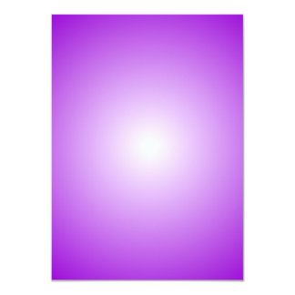 Radial Gradient - Violet and White Card