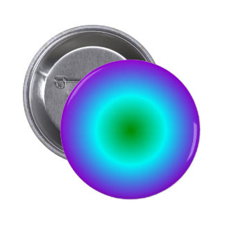 Radial Gradient - Violet, Cyan, Green Buttons