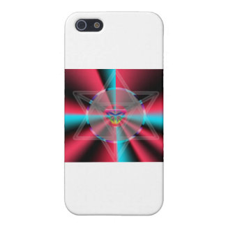 Radial Merkaba iPhone 5 Covers