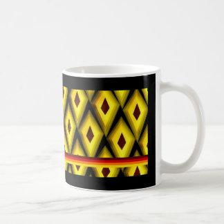 Radial Pattern Mug