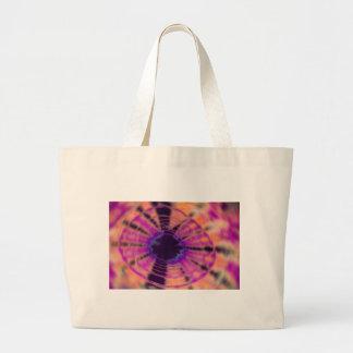 Radial Radical Canvas Bags