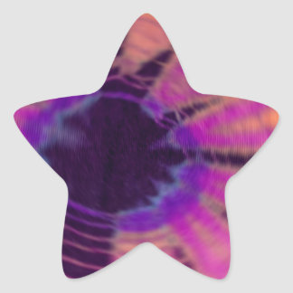 Radial Radical Star Sticker
