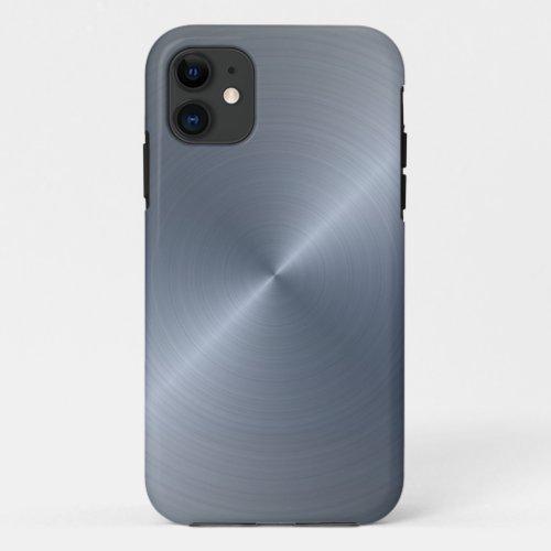 Radial Silver Metallic | Custom Phone Case
