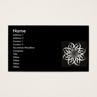 radial_single_2, Name, Address 1, Address 2, Co... Business Card