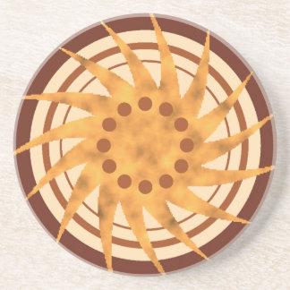 Radial Sun Coaster