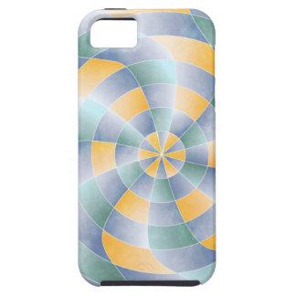 Radial Wavey Pattern iPhone SE/5/5s Case