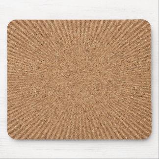 Radial Weaves Corkboard Mousepad