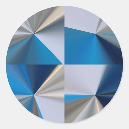 Radiance design classic round sticker